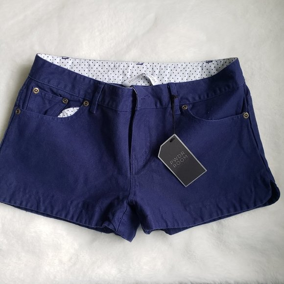 NTW Powder room navy shorts